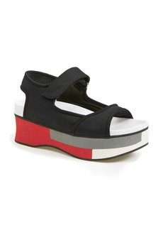 Marni Colorblock Platform Sandal (Women)