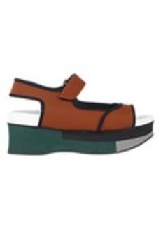 Marni Colorblock Platform Sandals