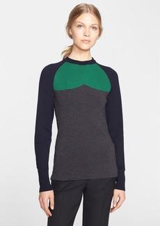 Marni Colorblock Wool Knit Sweater