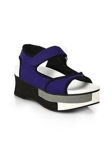 Marni Colorblocked Platform Sandals