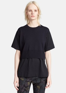 Marni Contrast Front Panel Knit Top