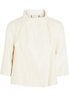 Marni Cotton-blend sateen jacket