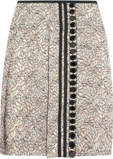 Marni Crystal-embellished jacquard skirt
