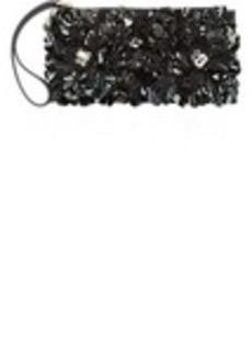 Marni Embellished Fur Woodruff Clutch