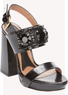 Marni Embellished Slingback Platform Sandals