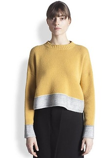 Marni Felt-Trimmed Cashmere Sweater