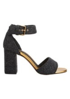 Marni Felted Ankle-Strap Sandals