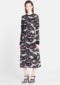 Marni Floral Jacquard Knit Dress