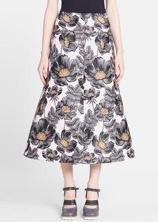 Marni Floral Jacquard Skirt