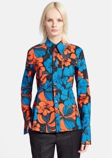 Marni Floral Print Cotton Shirt