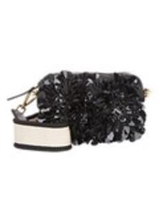 Marni Flower-Embellished Camera Bag
