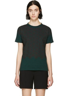 Marni Forest Green Spotted Bow T-Shirt