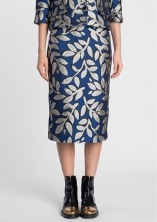Marni Jacquard Midi Pencil Skirt