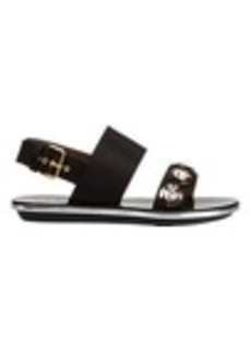 Marni Jeweled Slingback Sandals