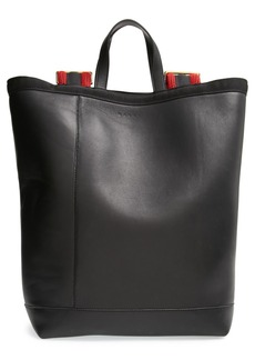 Marni Large Leather Backpack