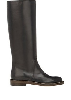 Marni Leather Riding Boots