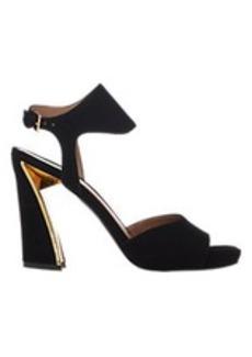 Marni Metal-Trim Ankle-Strap Platform Sandals