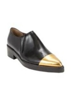 Marni Metallic Cap-Toe Ankle Boots