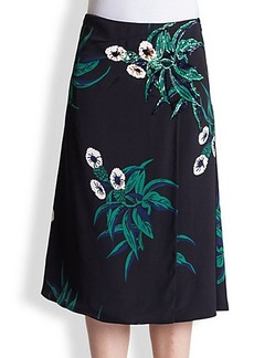 Marni Mokara Embroidered Skirt