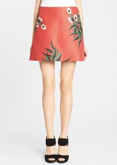 Marni Mokara Print Raffia Skirt