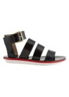 Marni Multi-Band Ankle-Strap Gladiator Sandals