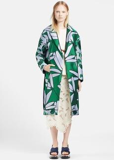 Marni Peony Oversized Jacquard Coat