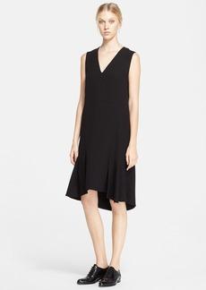 Marni Peplum Hem Crepe Dress