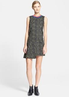Marni Print Asymmetrical Cotton Gabardine Dress