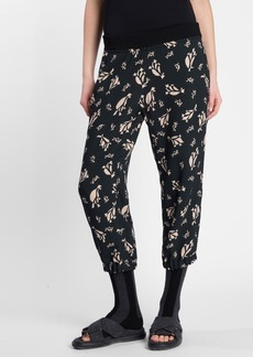 Marni Print Cropped Pants