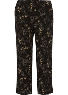 Marni Printed wool straight-leg pants