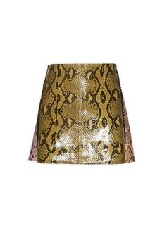 Marni Python mini skirt