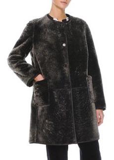 Marni Reversible Shearling Fur/Leather Coat