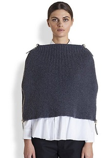 Marni Rib Knit Cape