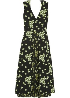 Marni Sakura floral-print silk-blend dress