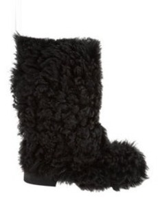 Marni Shearling Pull-On Boots