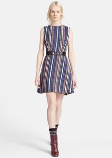 Marni Stripe Double Face Crepe Dress