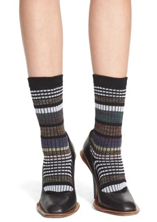 Marni Stripe Jacquard Socks