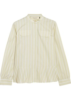Marni Striped cotton shirt