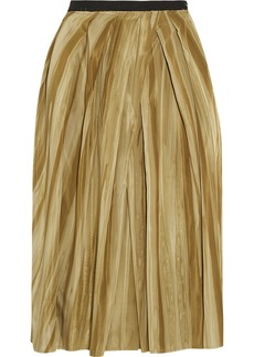 Marni Striped taffeta skirt