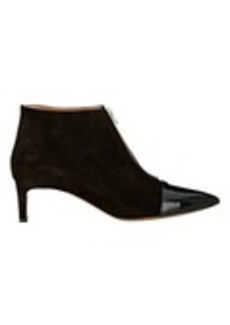 Marni Suede & Patent Zip-Front Boots