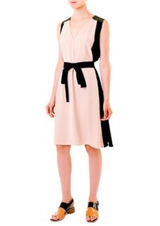 Marni Tri-Color A-Line Dress