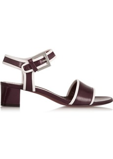 Marni Two-tone leather sandals