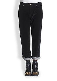 Marni Velvet & Denim Jeans