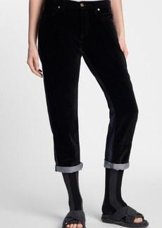 Marni Velvet Front Boyfriend Jeans