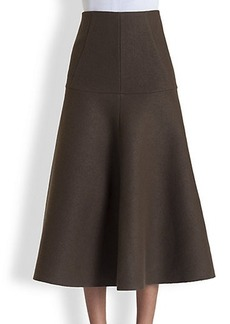 Marni Washed Felt Skirt
