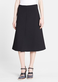 Marni Wool A-Line Skirt