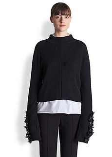 Marni Wool Embroidered-Detail Top