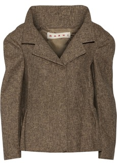 Marni Woven wool-blend jacket