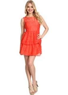 Max and Cleo Rose Cut Out Lace Dress