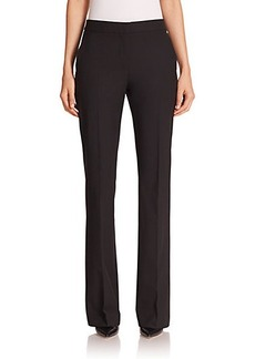 Max Mara Aeboli Bi-Stretch Wool Pants